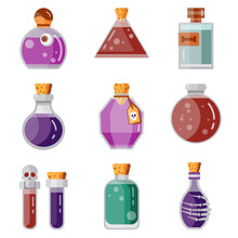 Potion Magic Bottles Fantasy F...