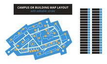 Vector Editable Floor Plan Wit...