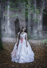 Creepy Dead Bride In Front Of ...