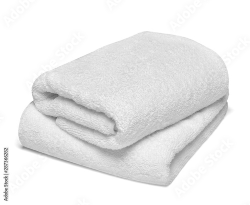 Vászonkép towel cotton bathroom white spa cloth textile