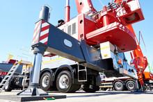 Hydraulic Support Of Auto Crane
