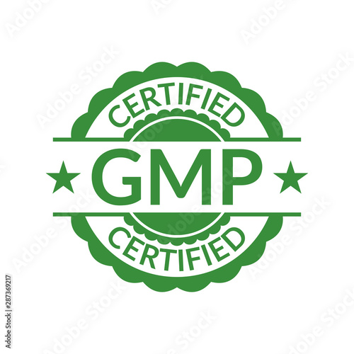 GMP stamp or seal Canvas Print