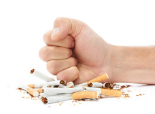 Stop Smoking Destroying Cigare...