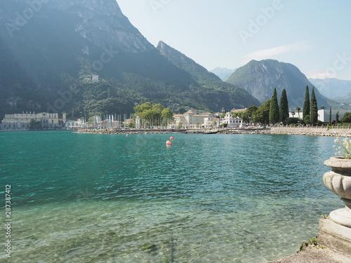 Photo  Riva del Garda am Gardasee im Trentino