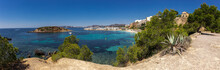 Panoramic View Of The Beach Po...