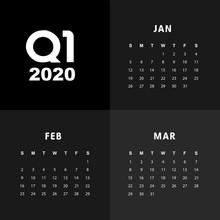 First Quarter Of Calendar 2020