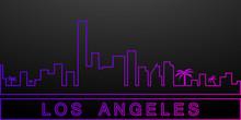 Los Angeles Detailed Skyline N...