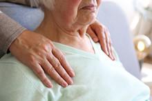 Mature Female In Elderly Care ...