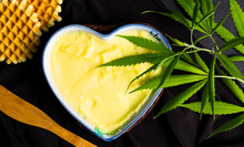 Butter With Cannabis Plant In ...