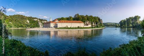 Fotografía Panorama view on Weltenburg Abbey - Kloster Weltenburg