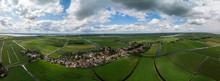 Dramatic Aerial Panoramic View...