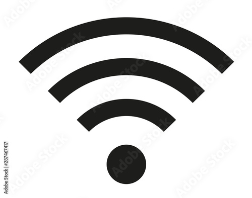Wireless | Internet Connection | Signal Icon Wall mural