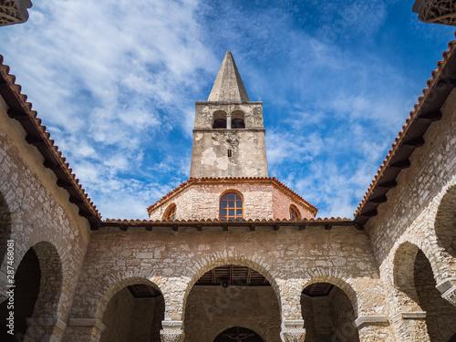 Fotografía Tower bell of Euphrasian basilica in Porec, Croatia