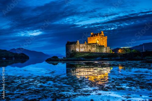 Foto op Plexiglas Kasteel Eilean Donan Castle, UK