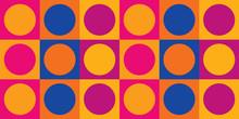 1960s Mod Wallpaper | Mid-Century Modern Repeating Pattern