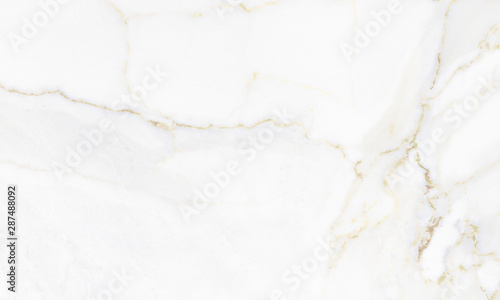 Calacatta marble with golden veins Fotobehang