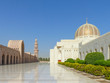 canvas print picture - Sultan Qaboos Grand Mosque in Muscat (مسقط, Maskat) Sultanate of Oman