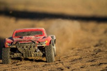 Rc Car Going Fast Through The ...
