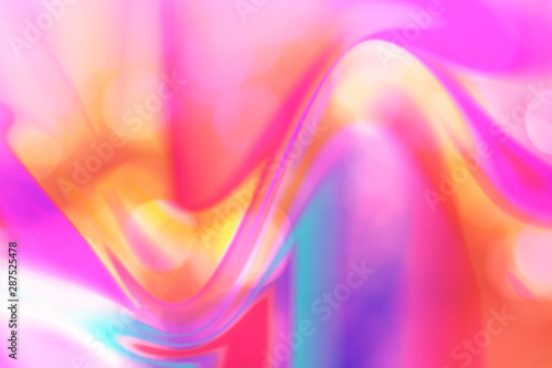 Abstract neon fluid blur natural background, pink. - 287525478