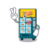 Two Finger Bakery Vending Machine In Character Shape