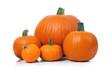 canvas print picture - Pumpkins