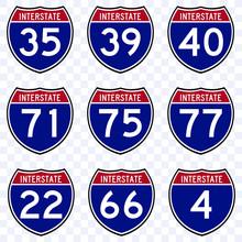 USA Road Traffic Transportatio...