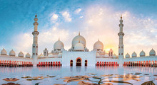 Sheikh Zayed Grand Mosque In A...
