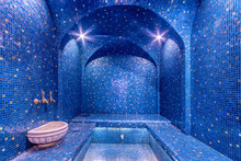 Colorful Turkish Bath Interior...