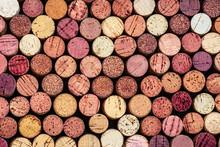 Wine Corks Pattern. Various Wo...