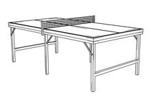 Table For Table Tennis Or Ping...