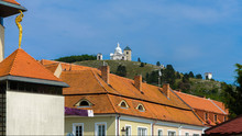 Picturesque Town Of Mikulov In...