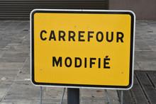 Panneau Provisoire Carrefour M...