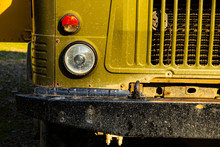 Detail Of An Old Truck