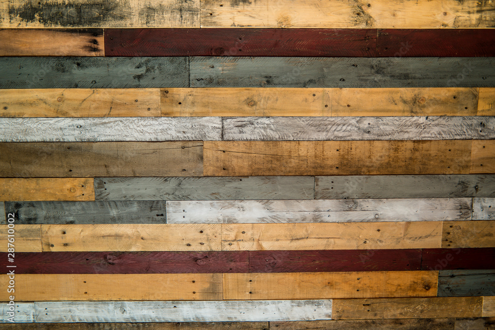 Fototapety, obrazy: Wood pallet wall