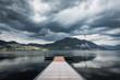 Pontile sul lago di Pusiano