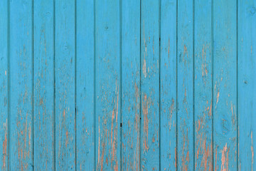 The old blue wood texture with natural patterns