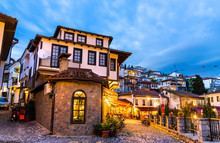 Traditional Houses In Ohrid, N...
