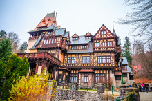 Beautiful Pelisor Castle In Si...