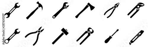 Fotomural Tools icons set