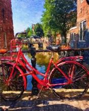 Oil Painting Modern Art Amster...