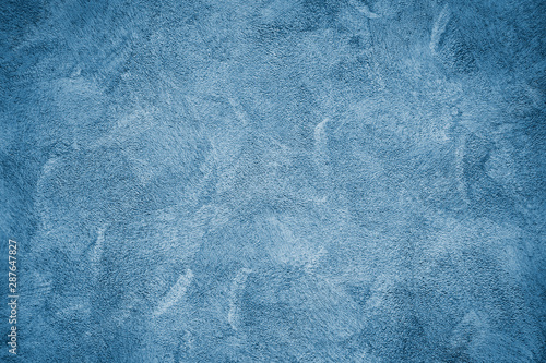 Fototapety, obrazy: Blue wall texture background