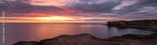 Cadres-photo bureau Nature Sunset over south shields coastline north east england