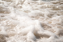 Close-up Of Foamy Water Over S...