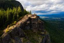 Hiking In The Rattlesnake Ridge In Washington State