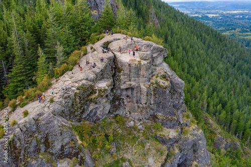 Hiking in the Rattlesnake Ridge in Washington State Wallpaper Mural