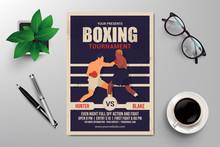 Boxing Tournament Flyer Templa...