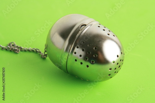 Tea infuser strainer filter tea stainless steel ball Tapéta, Fotótapéta