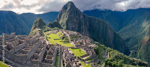 Fotomural Panorama of the Machu Picchu in Cusco, Peru