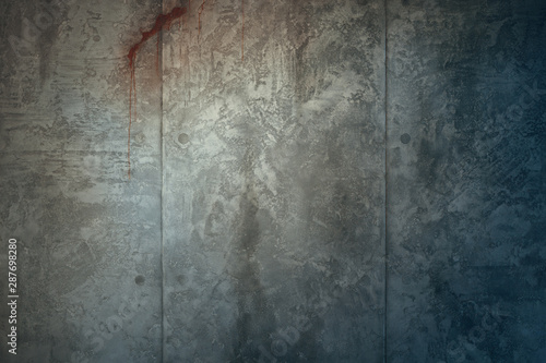 Vászonkép Aged cracked concrete stone plaster wall background and texture style
