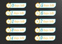 Sale Countdown Badges Vector I...